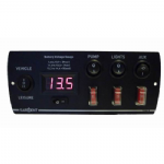 CONTROL PANEL BATTERY VOLTAGE GAUGE (5 SWITCH